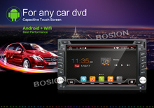 "6.2"" Autoradio Android 6.0 2 Din Quadcore GPS Navi DVD Wifi RDS 12G BT USB+Cam(China)"