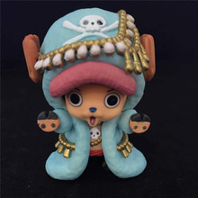 Anime One Piece Chopper Action Figure Toys 20th Anniversary Chopper figuras Dolls Brinquedos Gift 6.5cm(China)