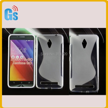 Alibaba Website Gel Tpu Rubber Case For Asus Zenfone Go ZC500TG Cover(China)