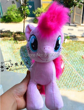Free Shipping Stuffed 30cm Little Pink Horse Plush Toys,11.8'' Horse Stuffed Toys For Christmas gifts(China)