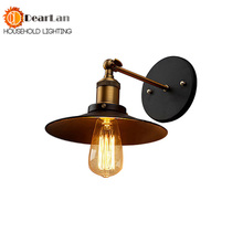 Vintage Iron Edison Wall Lamp Modern American Style Loft Light Living Room Bar Dining Room Free Shipping(BK-57)