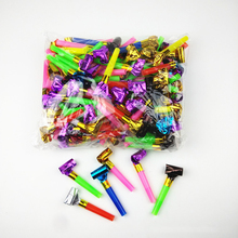 20PCS Small Multi Color Party Blowouts Whistles Kids Birthday Party Favors Decoration Supplies Noicemaker