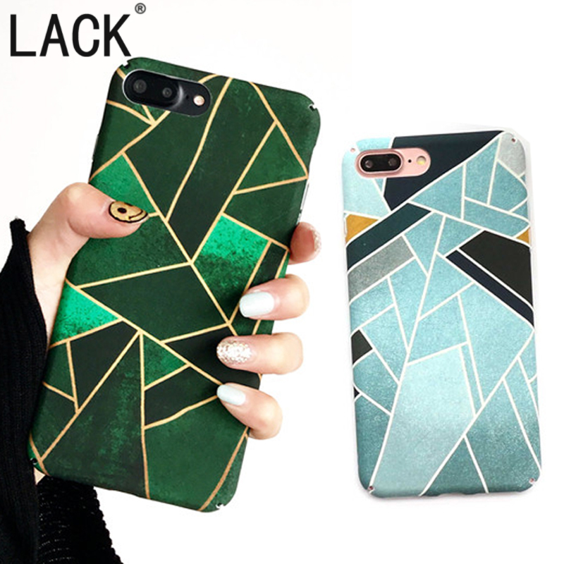 LACK Newest Geometric Graphic Pattern Case iPhone6 Phone Cases iPhone 6S 7 7Plus Full protection PC Colorful Back Cover