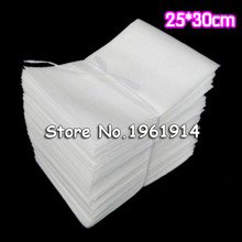 25*30cm 100Pcs Crystal EPE Foam Bag Protective Wrap Polietileno Verpakkings Materiaal For Packing Material Embalajes Burbujas