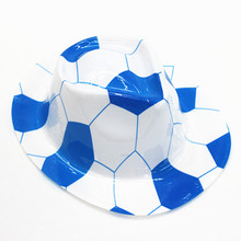 Hot selling football design  top hat for wholesale online shopping