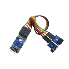 2 path tracing sensor module black and white line detection module search module intelligent car