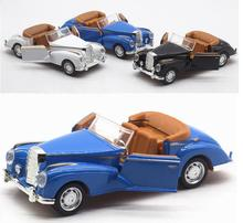 1:36 alloy pull back car models,high simulation Convertible classic car,metal diecasts toy vehicle,2 open doos,free shipping(China)
