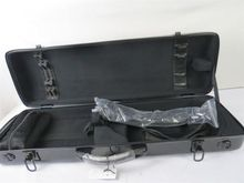 Strong Nice black glass fiber reinforced plastics violin case