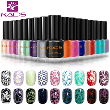 KADS New 9.5ml Two in one Nail Polish & stamp polish 25 colors Optional Stamping Nail Polish For Nail Art Brand