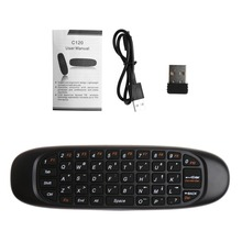 Stock 3-In-1 2.4G Remote Control Air Mouse Wireless Keyboard For PC Android TV Box #4XFC# Drop Ship