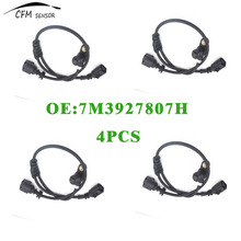4pcs New ABS Sensor Wheel Speed Sensor 7M3927807H Front Left For Seat Alhambra Ford VW(China)