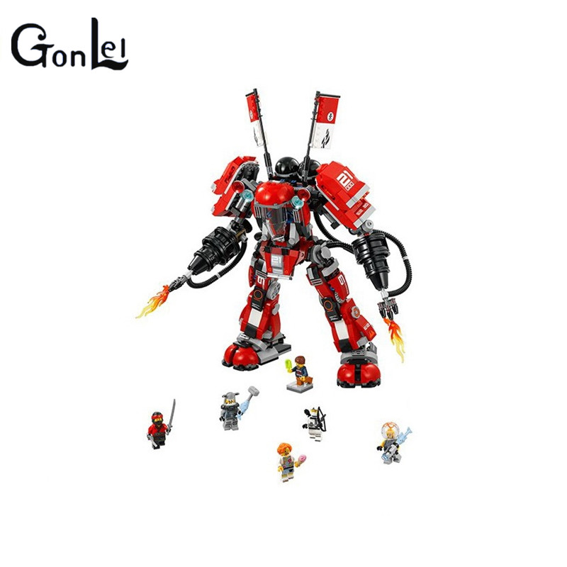 (GonLeI)06052 1010PCS Building Blocks Bricks Super Heroes Marvel Hulkbuster Educational Toys for Children gifts babt toys<br>