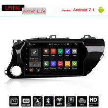 Automotivo Car DVD FOR TOYOTA HILUX 2016 2017 car dvd gps Audio player navigation head unit device BT WIFI 4G Multimedia System
