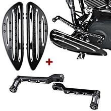1 Set For Harley Edge Deep Cut Floorboards Driver + Front Rear Shift Lever + Shifter Pegs 1988-2015 Dyna FLD Softail FL Touring