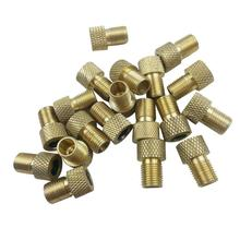 Buy Hot Selling 1/4/10PCS Gold Schrader Valve Adapter Converter Road Bike Bicycle Cycle Pump Tube Mesh copper presta valve 1.5*0.9cm for $1.37 in AliExpress store