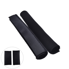 2Pcs Black Bike Bicycle Cycling Chain Stay Frame Protector Tube Wrap Cover Guard Bicycle Parts(China)