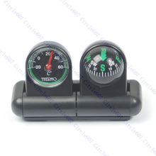 A96  Boats Cars Vehicles Navigation Compass Ball Thermometer #XY#
