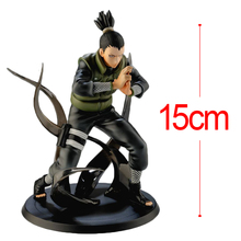 C&F Animation Naruto: Shippuden Action Figure Toys Nara Shikamaru PVC Model Collectible Garage Kits Toys For Kids Gifts(China)