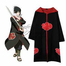 Anime NARUTO Uchiha Sasuke Costume Cosplay Hebi、Hawk Cloak