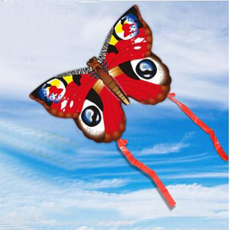 Butterfly Kites For Kids Children Lovely Cartoon Red Kites Cartoon TOP L3B5