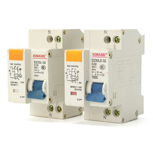 32A/16A AC 230V-50HZ 2P Residual current Circuit breaker with over current and Leakage protection DZ30-32A Popular
