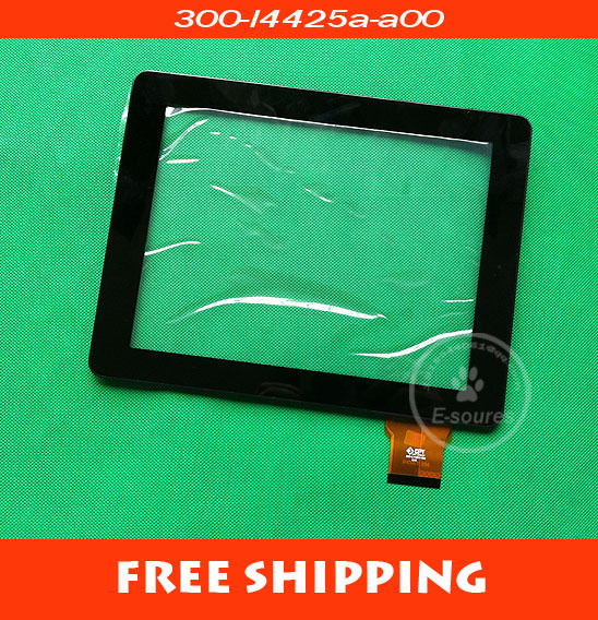 free shipping 9.7 capacitance screen 300-l4425a-a00 m974q9 capacitance screen touch screen handwritten screen black and white<br>
