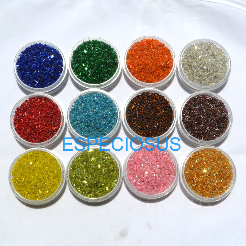 Lot of 2500pcs DIY 11//0 Rocaille 1.8mm Small Round Glass Seed Beads mix
