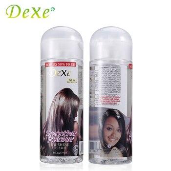 177 мл Dexe Волос Восстанавливающая Сыворотка Плавное Полировщик Extra Shine Protect Hair Essence For Dry Damaged Hair Oil Лечение Увлажняющий