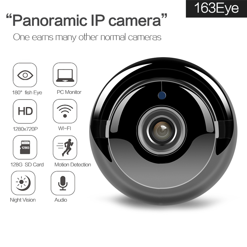 Wifi IP Camera Network Wireless 720P HD Camera Baby Monitor CCTV Security Camera Support P2P Network Panoramic Camera<br>