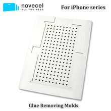 Aluminum Glue Remover Mold for T007 Glue Removing Machine Compatiable for Iphone 4/4s 5/5s/5c 6G 6 Plus 6s 6splus 7 7p 8 8p X(China)