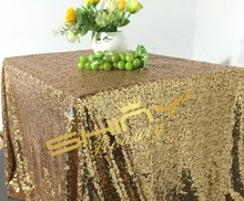 SALE Ready to Ship 50''*72'' Black Gold Sequin Cloth, Wholesale Sequin Tablecloths, Black Gold Linens Wedding Tablecloth