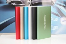 Super 8000mah power bank slim polymer powerbank battery bank power External Battery Pack for ios android phones