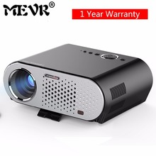 MEVR GP90 GP90UP LED projector 1280x800 Smart Android Wifi USB Full HD Video LED TV HDMI VGA 1080 P hd home theater projector
