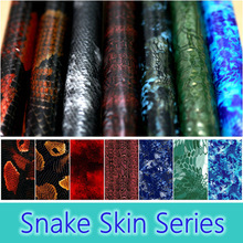 Free Shipping 0.5M Wide Snake Skin Water Transfer Pringting Films Aqua Print Films For Motorcycle/car Hydrographics Film