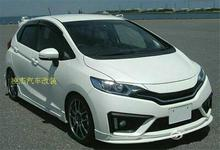 Buy NOBLESSE 1 pair primer unpainted ABS/carbon fiber sports Car front headlight lips splitter brow HONDA FIT3 GK5 2014-2016 for $30.00 in AliExpress store