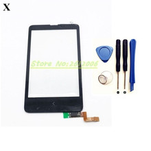 Original High Quality 4.0 '' For Nokia X Dual SIM RM-980 Touch Screen Digitizer Sensor Front Glass Lens panel + tools