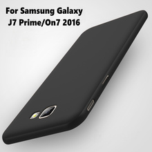 MAKAV For Samsung Galaxy J7 Prime Case 360 Protection Slim Hard Matte PC Phone Back Cover Fundas For Samsung Galaxy On7 2016(China)