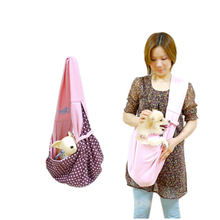 Outdoor Sling Pet Dog Cat Carrier Pouch Travel Bag Tote Handbag Luggage Bag for Doggy Cat Pet