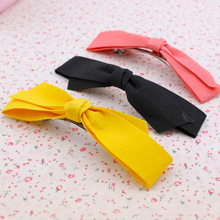 Edition hair Handmade cloth art bowknot hairpin clip, free home delivery<br><br>Aliexpress