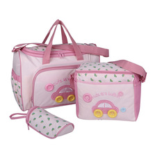 High Quality Car Multi-function 3 pcs Baby Diaper Bag Set Mummy Bags Nappy Bag Gift Maternity Diaper Changing Bags Drop Shipping