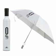 2017New Arrive Cute Semi-automatic Folding Pencil Umbrella Large Strong Frame Windproof 8Ribs Creative Umbrellas 12 color(China)