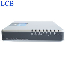 Free Shipping! Unlocked Linksys SPA400 IP PBX Internet 4 Ports FXO Voicemail VoIP Phone Adapter