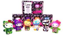 1set Tokidoki hello kitty moofia doll 9cm box package Mini Capsule doll Japanese Cartoon ktty doll