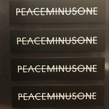 5 sets *PMO peaceminusone sticker Gdragon GD waterproof stickers set