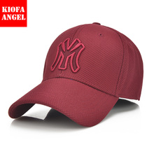 cotton new spring and summer golf baseball cap Men's outdoor sports cap ladies Cotton Baseball Caps Hat For Adult Men Women(China)