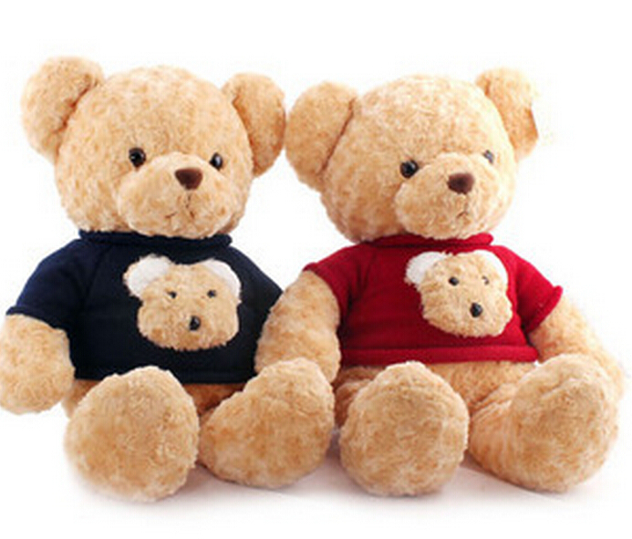 Large  Sweater Teddy Bear  Plush Doll Toys   Gifts For Children 60cm One Piece<br><br>Aliexpress