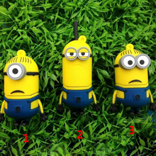 Exquisite small yellow USB flash drive 8G 16G 32g 64g 1G 4G pen drive, despicable my cartoon creative U disk, memory stick