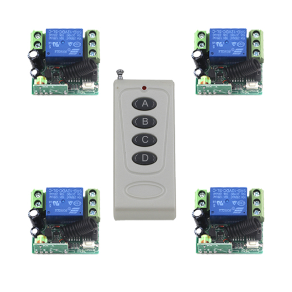 Practical DC 12V 10A 433MHZ Relay Wireless remote Switch for Entrance Guard System interruptor SKU: 5389<br><br>Aliexpress