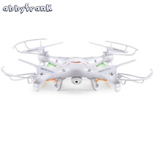 Abbyfrank RC Aircraft Drone X5C 360-Eversion 2.4G Remote Control 4 CH 6 Axis Gyro Aircraft Outdoor Plane Toys No Camera(China)