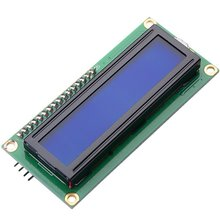 Buy IIC/I2C/TWI LCD 1602 16x2 Serial Interface Adapter Module Blue Backlight Arduino UNO R3 MEGA2560 (pack 2) for $4.61 in AliExpress store